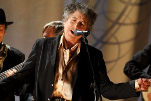 LOS ANGELES, CA - FEBRUARY 13: Musician Bob Dylan performs onstage during The 53rd Annual GRAMMY Awards held at Staples Center on February 13, 2011 in Los Angeles, California. (Photo by Kevin Winter/Getty Images) *** Local Caption *** Bob Dylan